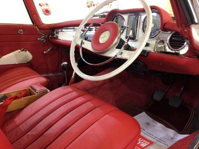 Mercedes Pagoda Machine Polishing & Interior Detailing