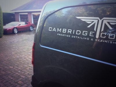 Cambridge's mobile team help Revive bodywork