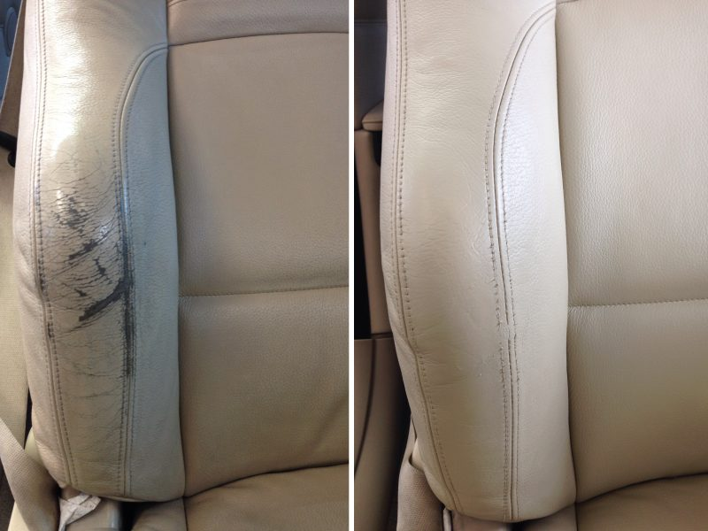 Mobile leather car seat repair courses