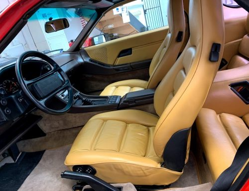 Porsche 928 Interior Restoration
