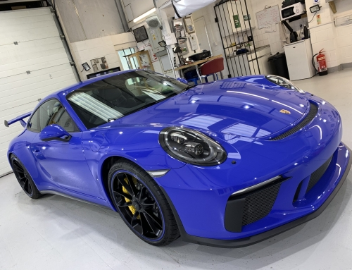 Car Winter Paint Protection